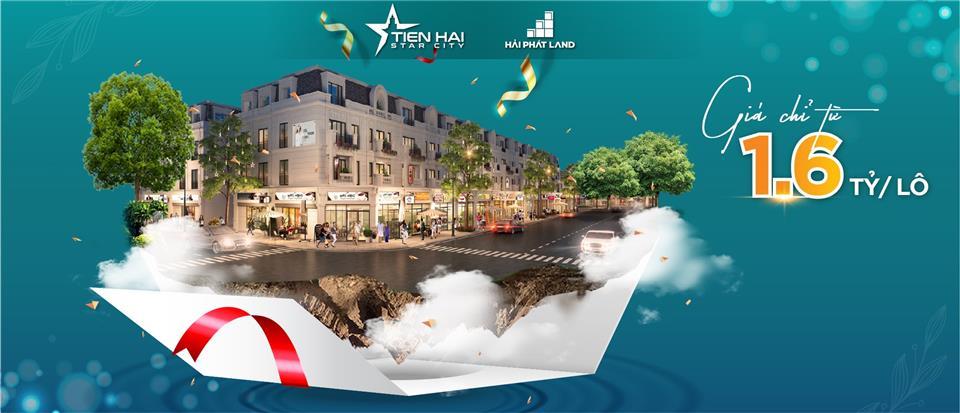 """Tiền Hải Star City 1,6 tỷ/lô - Nơi khởi đầu tinh hoa """"Biển bạc"""""""